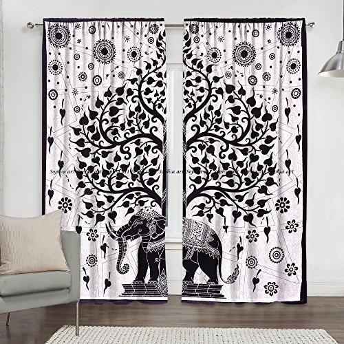 cortinas habitacion panel japones