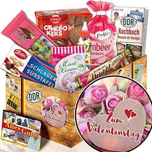 Zum Valentinstag - Suessigkeiten Box DDR - Valentinstag für Ihn