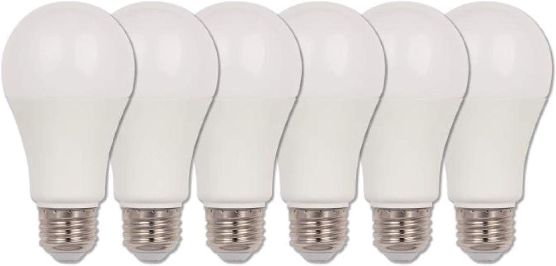 75 Watt Equivalent Westinghouse Lighting 5196000 11 Watt LED Bulbs 6-Pack Omni A19 Soft White E26 Medium Base LED Light Bulbs