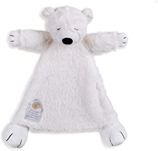 Nat and Jules On The Night You Were Born Polar Bear Bright White Children's Plush Stuffed Animal Toy Blanket