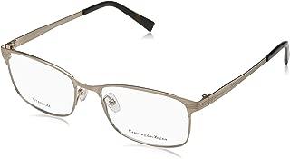 Ermenegildo Zegna Rectangular Eyeglasses EZ5049 028 Gold/Havana 54mm 5049