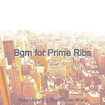 Bgm for Prime Ribs