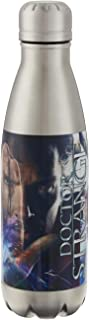 Marvel Swift Water Bottle- 17 oz. Stainless Water Bottle- Steel Double Wall Insulated and Vacuum Insulated, Cold for Up to 24 hours, BPA Free & Leak-Proof, Dr. Strange