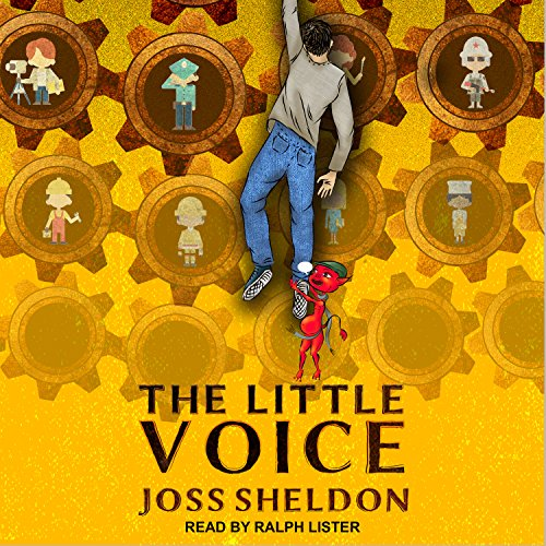 The Little Voice audiobook cover art