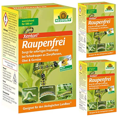 Neudorff Raupenfrei Xen Tari Sparpack 3 x 25 g