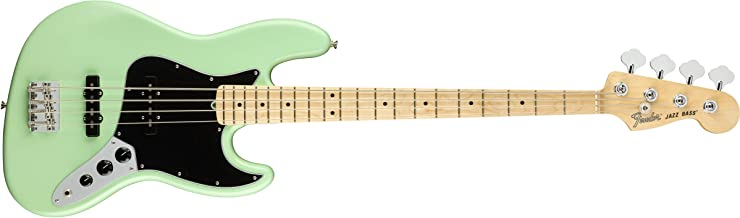 Fender American Performer Jazz Bass - Satin Surf Green with Maple Fingerboard