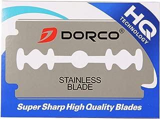 Dorco ST300 Platinum Extra Double Edge Razor Blades - 100 Ct