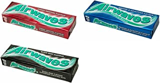 Wrigleys Airwaves Gum Assortment - Case of 30 - your favourite 3 flavours!