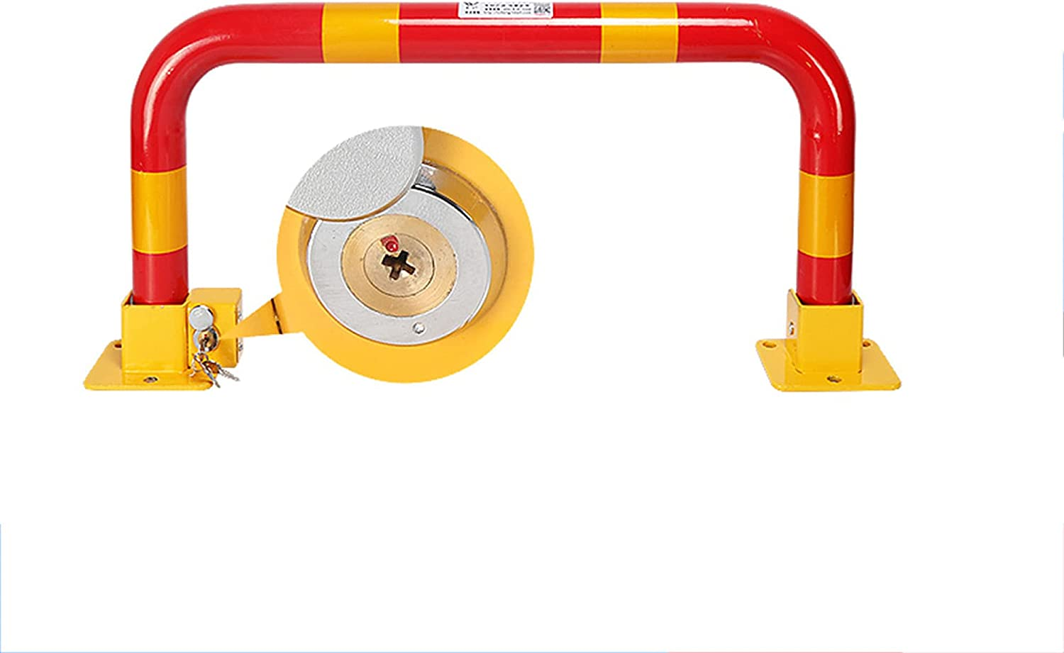 Parking barriers Thickened Anti-Collision Max 68% OFF Locks Max 55% OFF Fixed