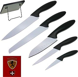 COSMOS IMPORT Set de 5 Cuchillos de Cocinero con Soporte de imán - LK-02
