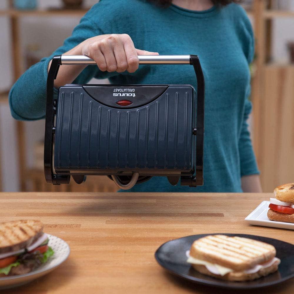 Amazon Com Taurus Toast Co Sandwichera 700 W Antiadherente Platos Kitchen Dining