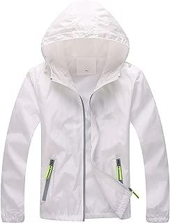 Unisex Windbreaker Jacket Hoodie Skin Coat Reflective Quick Dry Outdoor