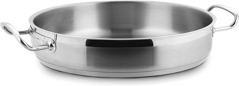 100% precio garantizado Lacor - 57636 - Paellera Sin Tapa 36x7cm 36x7cm 36x7cm Inox 18%Cr.  Envío rápido y el mejor servicio