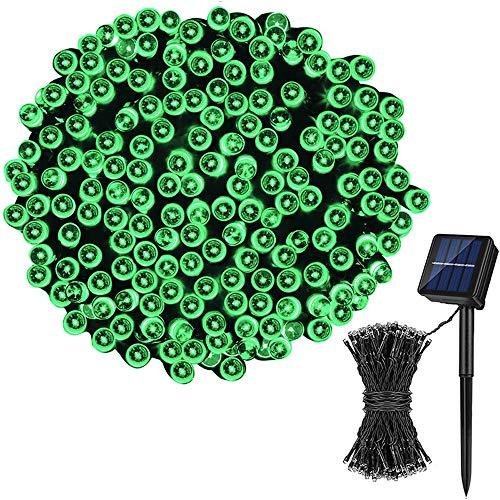 Solar String Lights, 170ft 100 LED 8 Modes Outdoor String Lights Waterproof Solar Fairy Lights for Garden, Patio, Fence, Balcony, OutdoorsBackyard, Bistro, Pergola Wedding Holiday Decoration (Multi