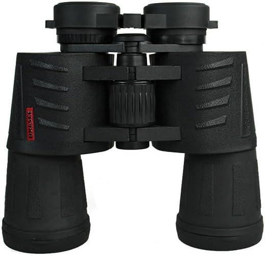 GAO-WJ 10X50mm Jumelles Haute Définition portable Longue Portée Militaire Haute Puissance De Transport Cas Générique Militaire Observation des Oiseaux Chasse (Couleur   Noir)