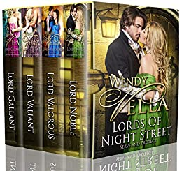 Lords Of Night Street Collection: Books 1-4 by [Wendy Vella]