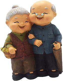 [Qiban] 家庭的な創造的な家具の記事表示, ホームデコレーション, ギフト, 記念日, 記念日愛するカップル, 手作り, 手作りの樹脂フィギュア, 父の日, 母の日, 誕生日プレゼント (#5)