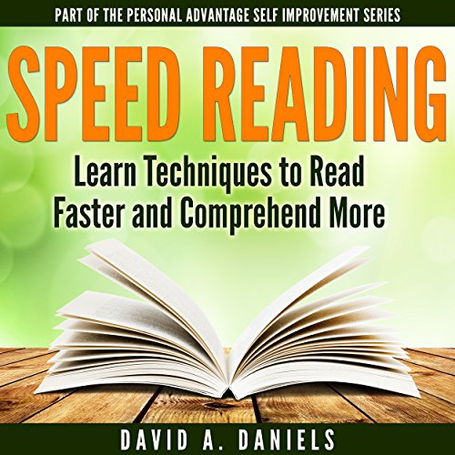 Comprehension Speed Reading audiobook cover art