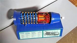 Turbo Jet Engine Turbina de gas modelo