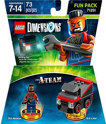 Lego Warner Home Video - Games Dimensions, A Team Fun Pack B.A. Baracus - Not Machine Specific