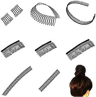Fixeer Kam U-vorm Haar Afwerking Fixeer Kam Haarspelden Mini Pony Houder Styling Tool Kapsel Haaraccessoires Haaraccessoir...