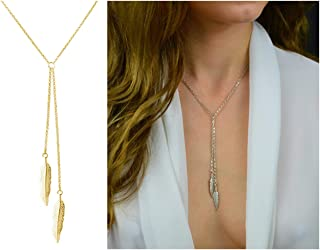 Dcfywl731 Fashion Three Triangle Arrow Long Chain Pendant...