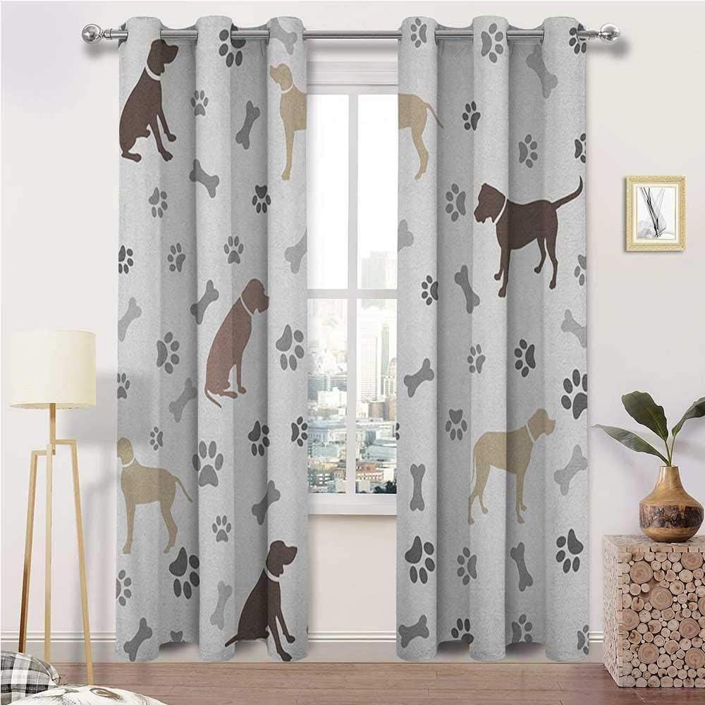 Window Curtain 入手困難 Panel Dog Soundproof Lover 贈物 Panels