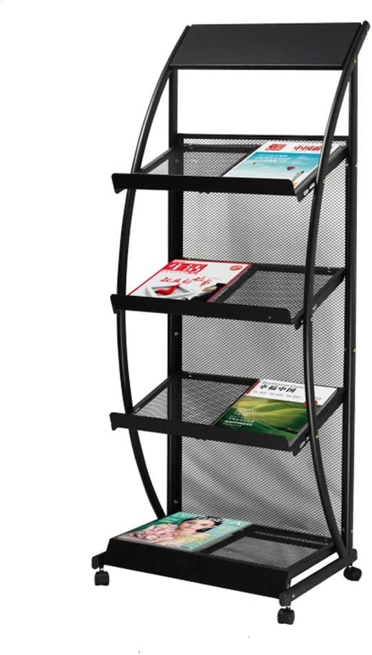 GBY Sales Floor Magazine Seattle Mall Rack Removable Newsp Frame Data