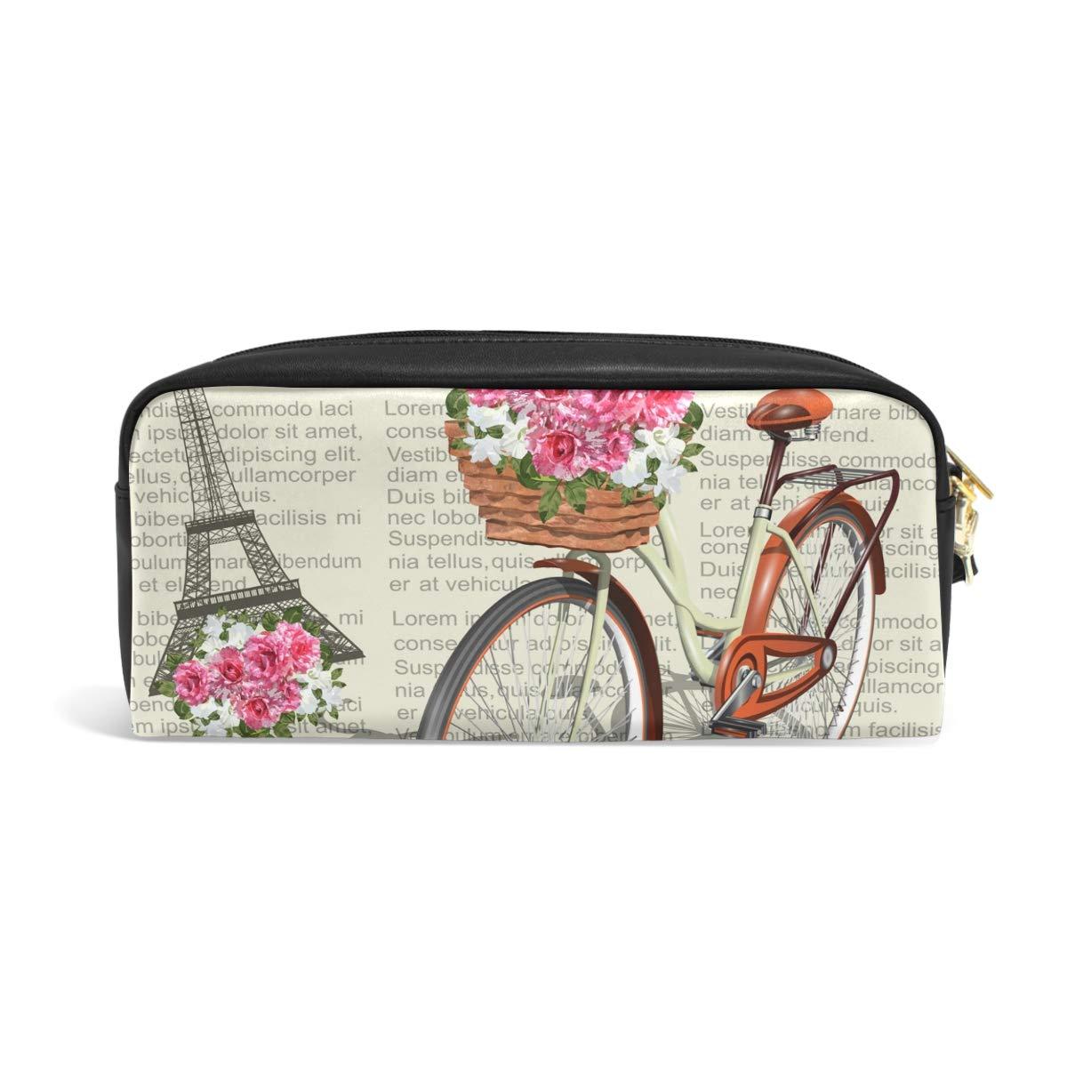 JSTEL Paris - Estuche escolar para niños, adolescentes, cosméticos, neceser de maquillaje para mujer, bolsa de papelería duradera de gran capacidad: Amazon.es: Oficina y papelería
