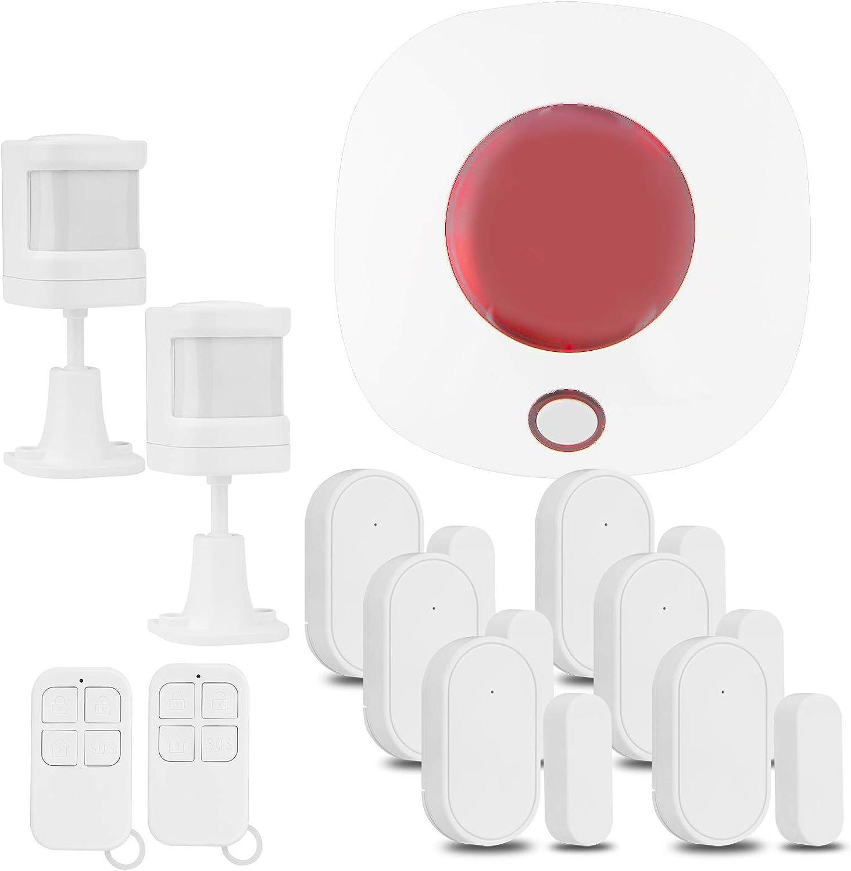Home Security Great interest Alarm System New sales House WiFi DIY Burglar Wireless