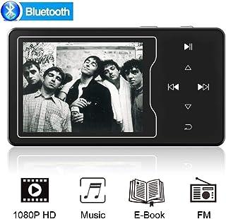 MP3Player,PortableMP3PlayerwithBluetooth4.2,HiFiLosslessSoundMetalBuilt-inSpeaker/2.4inchScreenMusicPlayer...