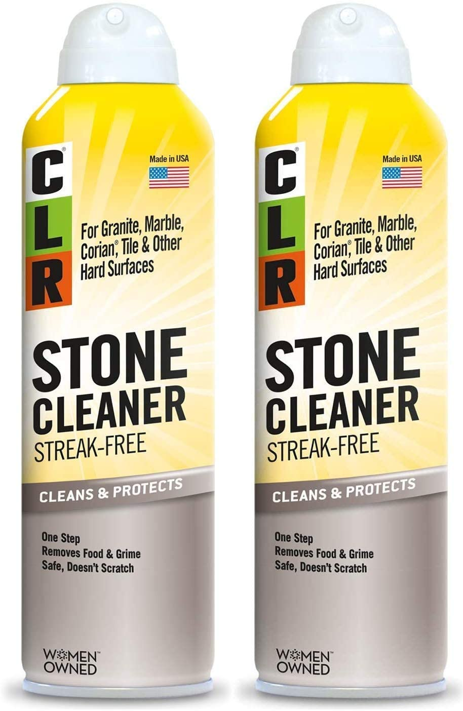 CLR Stone Cleaner Streak-Free 12 Packagin All items free 1 year warranty shipping Aerosol Ounce Spray