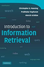 Best manning introduction to information retrieval Reviews