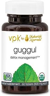 Maharishi Ayurveda Organic Guggul - 60 Herbal Tablets - 500 mg ea. | Rejuvenate & Cleanse The Lymph System | Strengthens J...