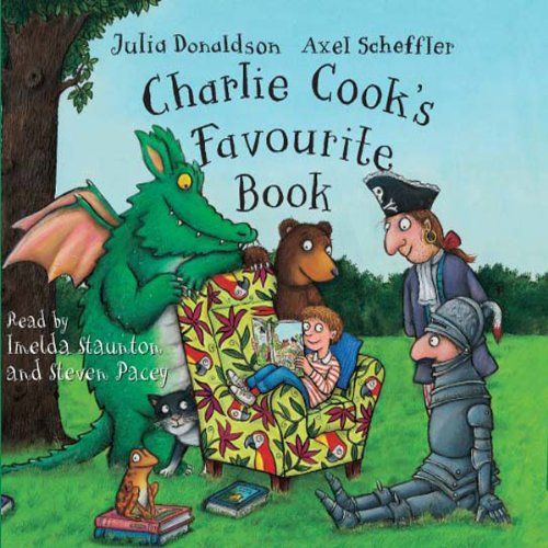 Charlie Cook's Favourite Book audiobook cover art