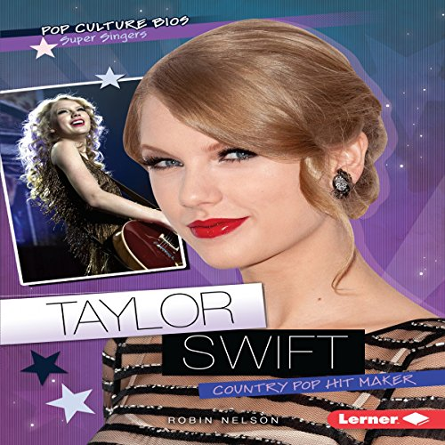 Taylor Swift audiobook cover art