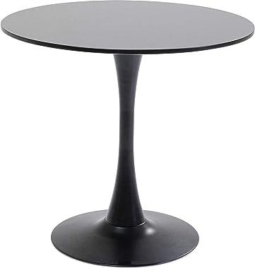 Table Schickeria Noire 80cm Kare Design