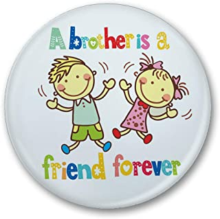 Little India Brother is Friend Forever Fridge Magnet (MGN101)