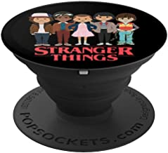 Angry Cartoon Face Kid Fan Stranger Style Pop Culture Things PopSockets Grip and Stand for Phones and Tablets