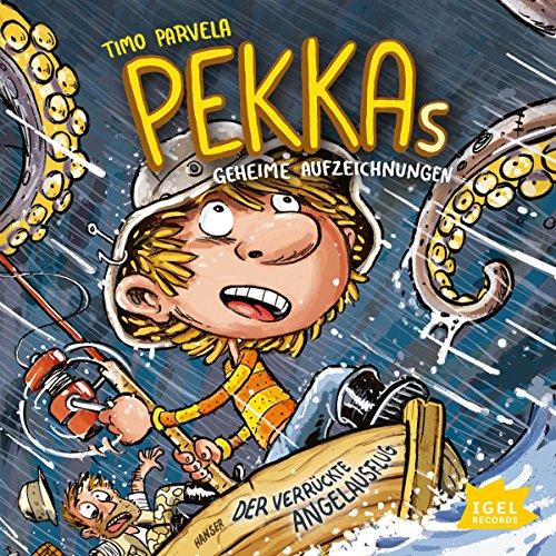 Der verrückte Angelausflug (Pekkas geheime Aufzeichnungen 3) audiobook cover art