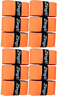 Zingther Professional Premium Super Tacky Tennis Racquet Grip Tape/Badminton Racket Overgrip Also for Pickleball Paddle Ha...