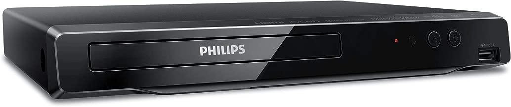 Philips 4K UHD Upconversion Blu-Ray DVD Player BDP3502/F7 (Does NOT Play 4K BLU-Rays / ONLY UPCONVERTS Regular BLU-Rays to 4K) (Renewed)