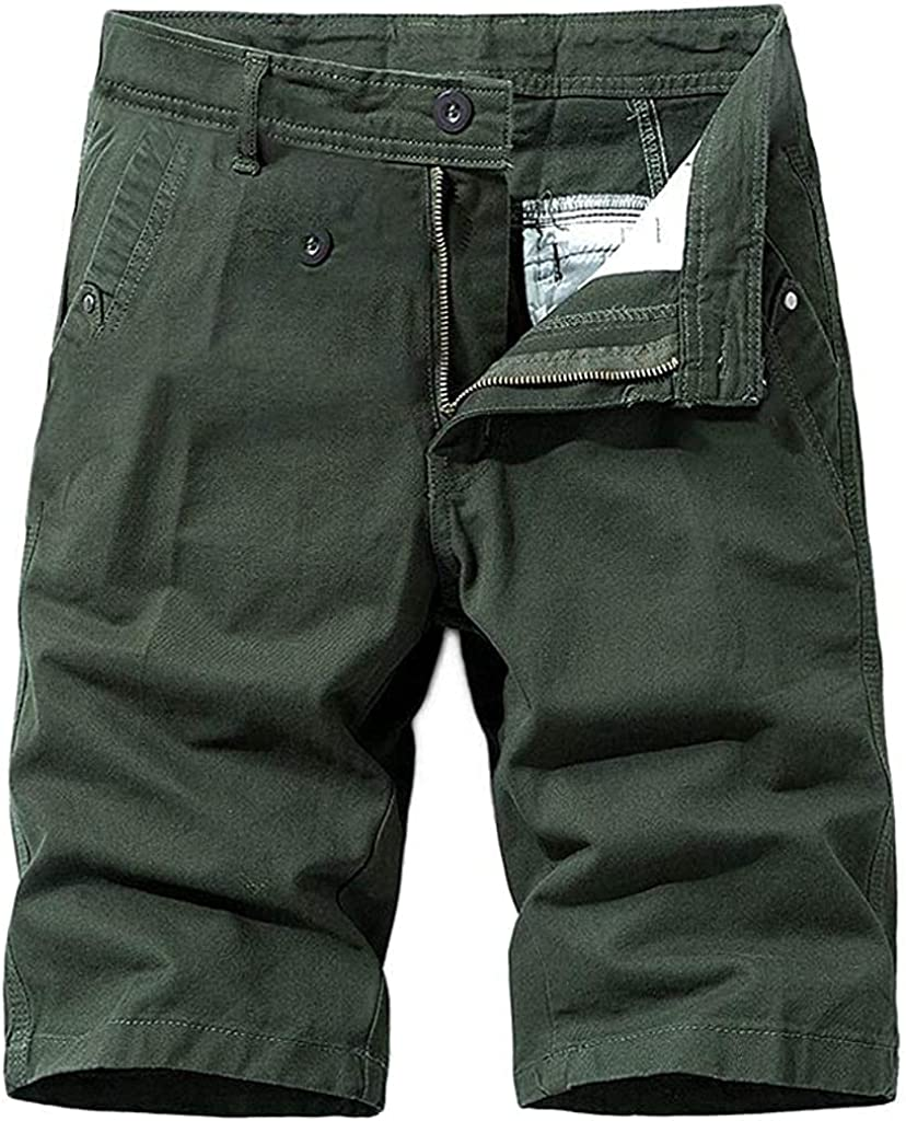 Cargo Shorts for Men Relaxed Fit Casual Shorts, Outdoor Workout Hiking Shorts Lightweight Overalls Shorts
