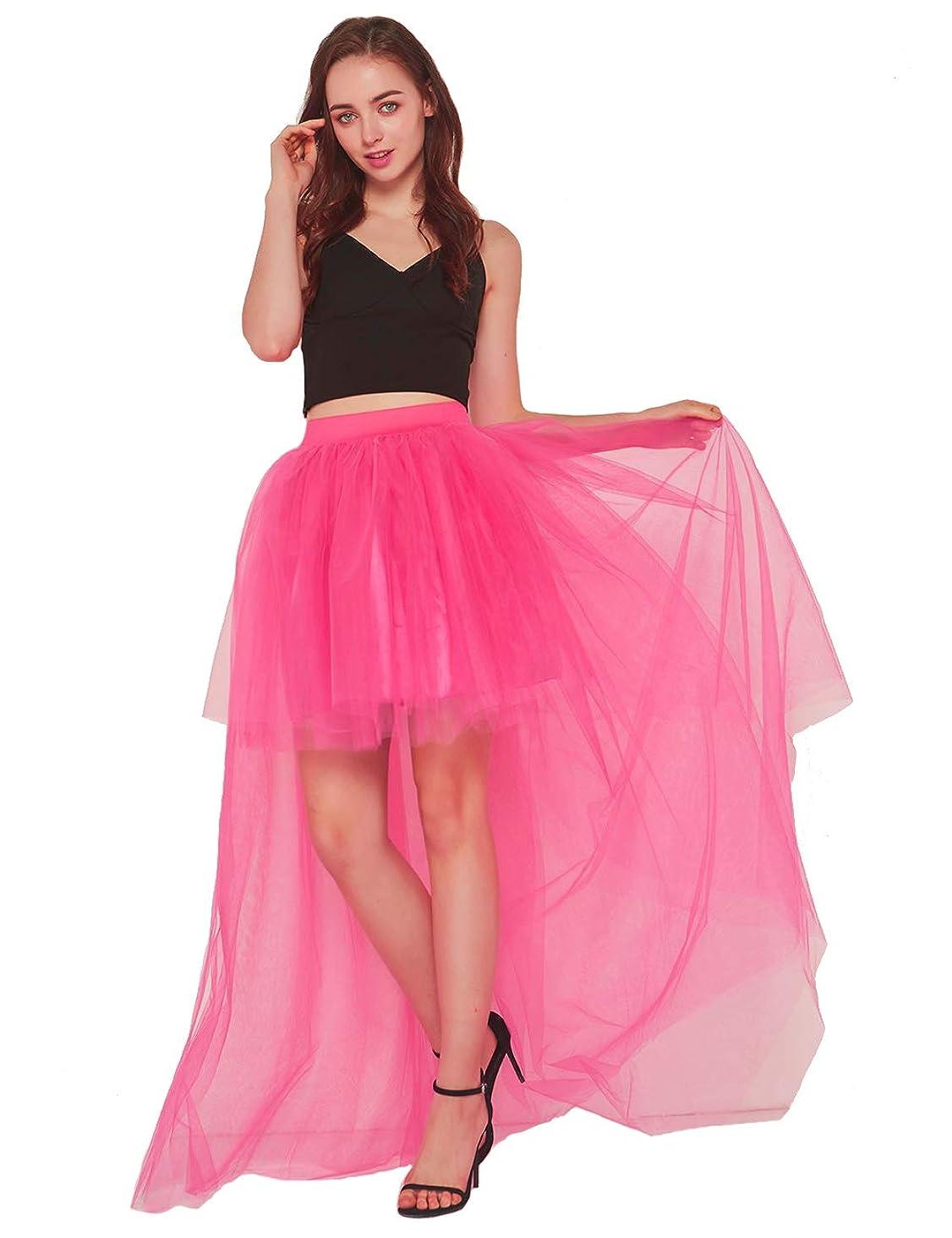 Women Dovetail Skirt Sexy Short Front Back Long Fluffy Tulle Skirt for Wedding/Bridal Skirt/Take photoes