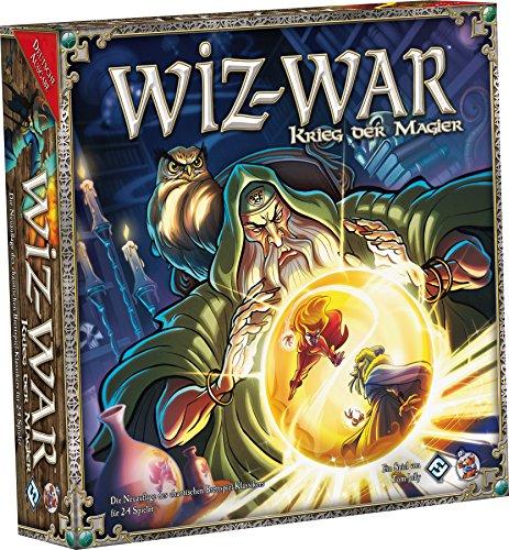 Asmodee HE486 - Wiz-War: Krieg der Magier, Brettspiel
