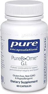 Pure Encapsulations - PureBi•Ome G.I. - Hypoallergenic Multi Strain Probiotic Blend for G.I. Comfort and Health* - 60 Capsules