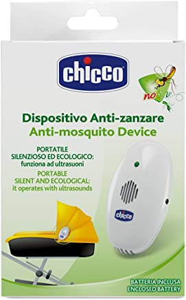 Chicco - Dispositivo portátil antimosquitos tecnología ultrasonidos