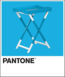 Pantone 269 Violet Folding Tray Table, 17-4540 Hawaiian Ocean
