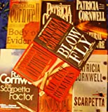 Patricia Cornwell (Set of 8 Books) Body of Evidence, Unnatural Exposure, Scarpetta, The Scarpetta Factor, Cruel and Unusual, Point of Origin, All That Remains, Blow Fly