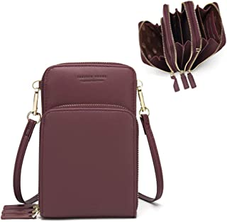 Small Crossbody Phone Bag for Women,Cellphone Shoulder...